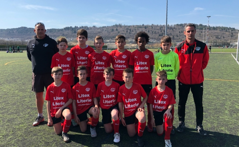 U13 :Match contre Arbent